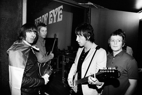 beady eye blackwhite