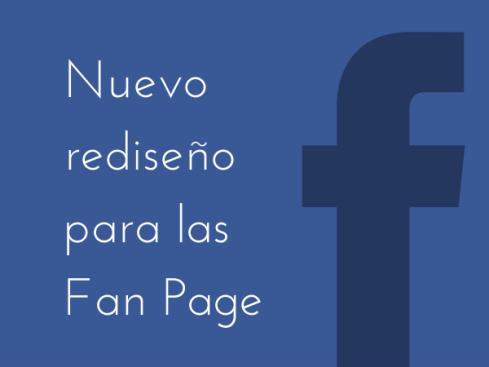 Así es el rediseño de Facebook para las páginas de empresa