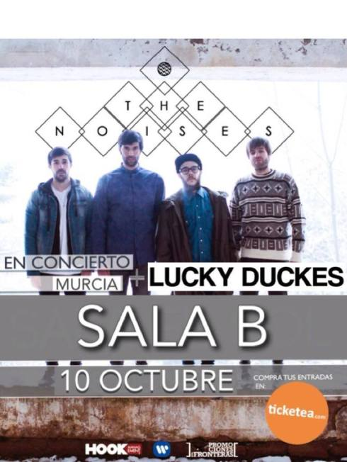 The Noises en Sala B Murcia